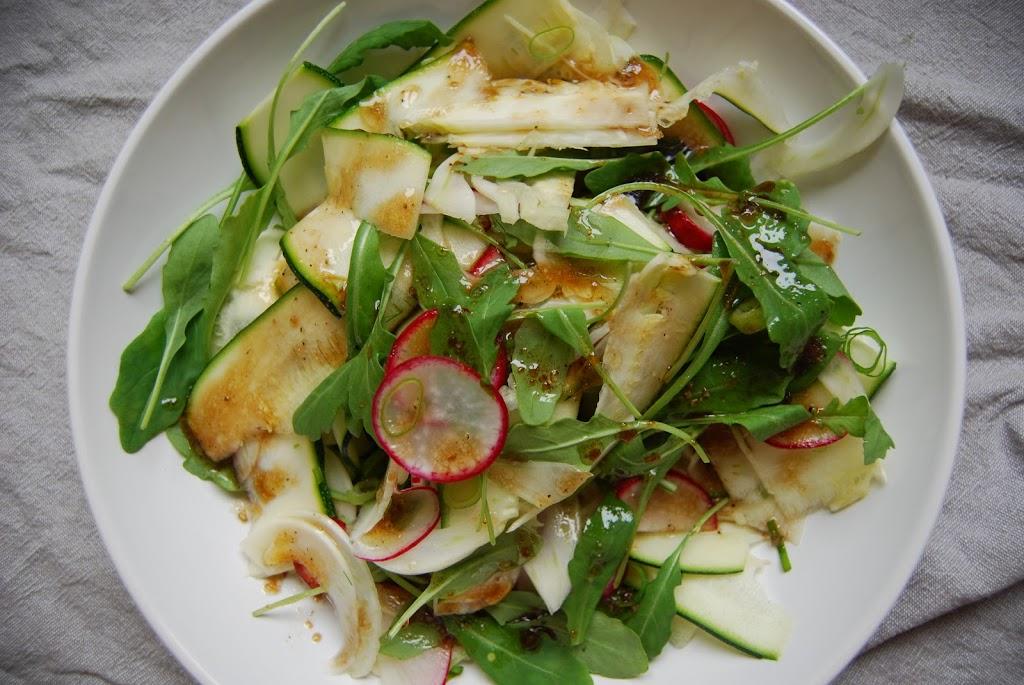 Enkelt salatdressing