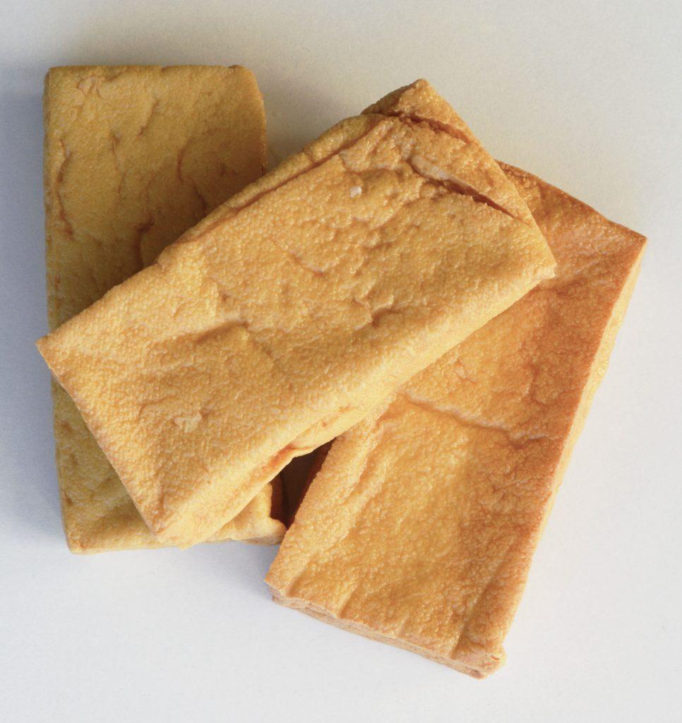 Stekte tofu